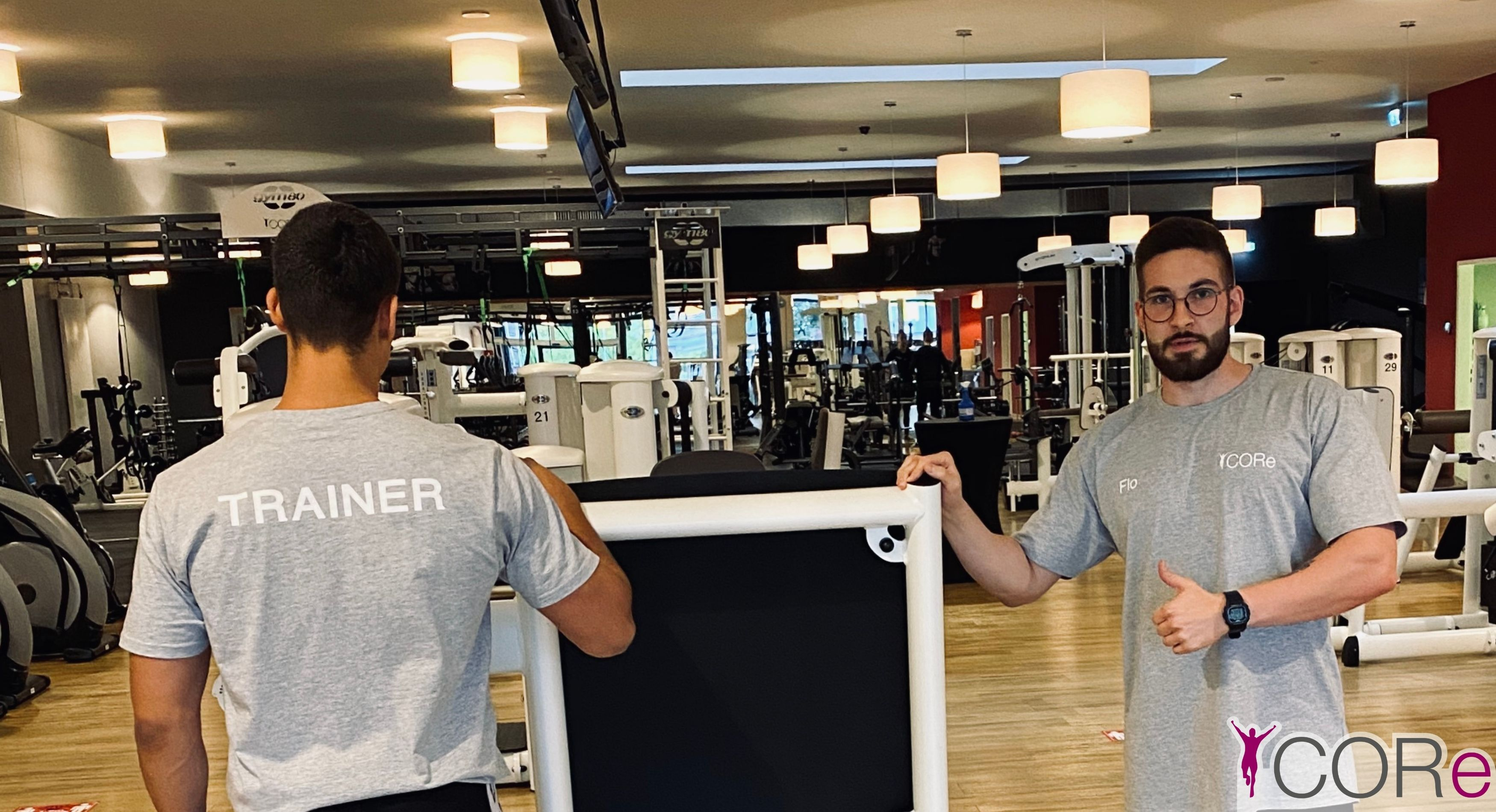 Neue Trainer - Shirts